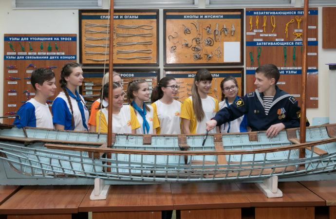 В «Орлёнке» открылась Академия морских профессий