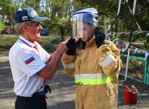 В «Орлёнке» проходит Всероссийский слёт юных пожарных
