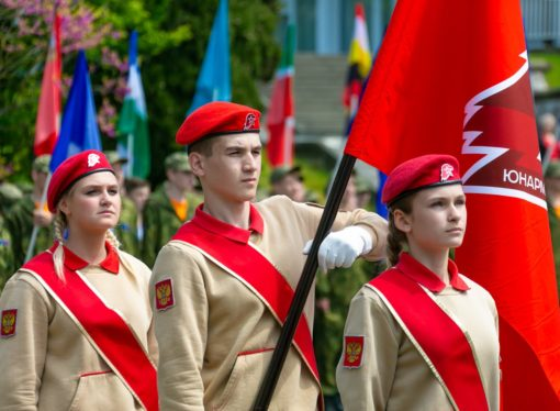 Дети России стали курсантами Армейской академии в «Орлёнке»