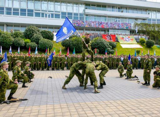 В «Орлёнке» пройдёт финал Всероссийской военно-спортивной игры