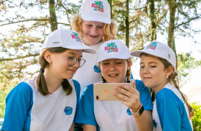 Юные блогеры освещают события «Орлёнка»
