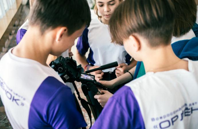Орлята вступили в Лигу юных журналистов