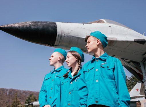 Юные лётчики набирают высоту в «Орлёнке»