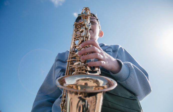 В «Орлёнке» открылся первый фестиваль детских духовых оркестров