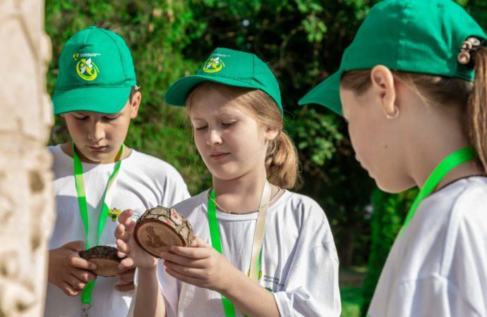 Дети России учатся сохранять леса